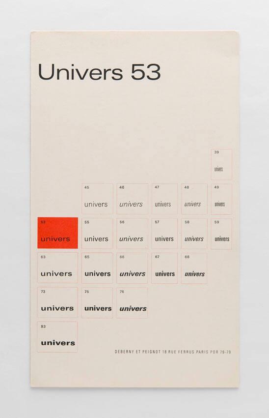 Univers 53