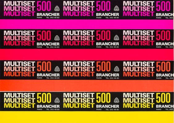 Multiset 500