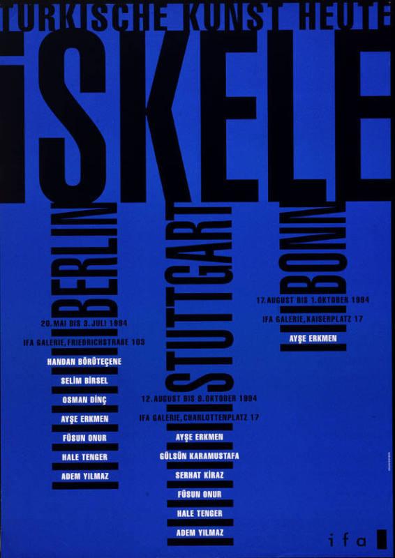 185c860a8666a Iskele - Türkische Kunst heute - Berlin - Stuttgart - Bonn - Ifa Galerie