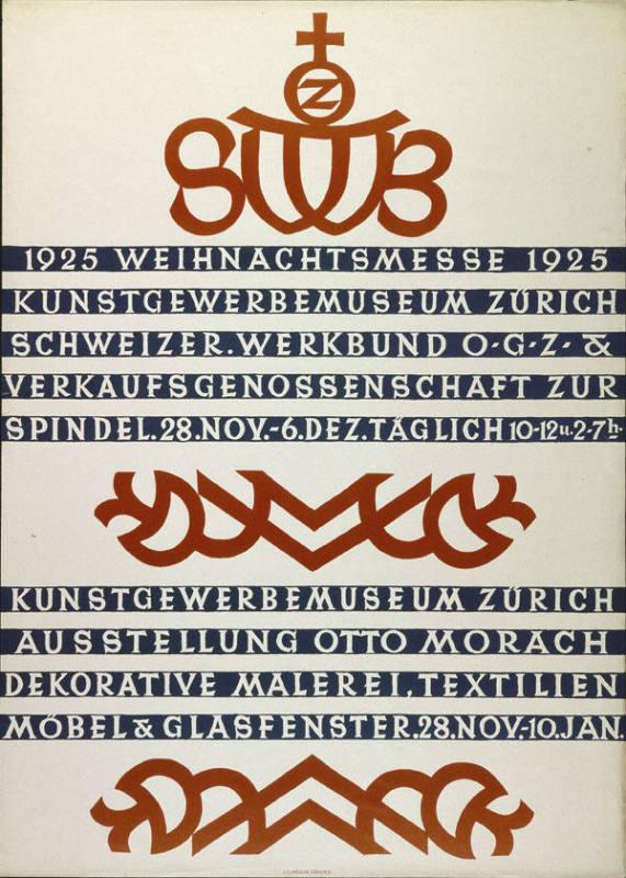 Weihnachtsmesse 1925   Kunstgewerbemuseum Der Stadt Zürich   Schweizer.  Werkbund O.G.Z. U0026 Verkaufgenossenschaft Zur Spindel